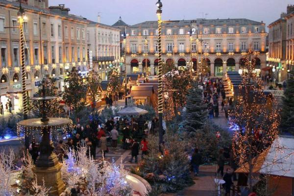 Marché de Noël - Castres / © www.ville-castres.fr