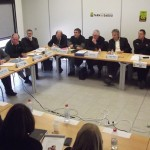 Les maires de Tarn & Dadou réunis en séminaire à Técou - Samedi 11 février 2012 / © Ted
