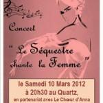 Le Séquestre chante la Femme / (c) lesequestre.fr