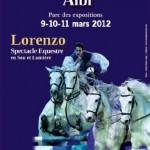 Lorenzo, spectacle équestre / (c) Robin Hasta Luego Photographe