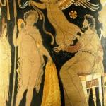 Jason apportant à Pélias la Toison d'or / (c) Wikipédia