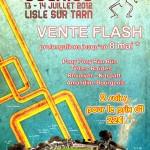 Festival Les Arts'Scénics 2012 - Vente flash