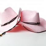 Country Pink Cowboy Hats (c) Roswell Park