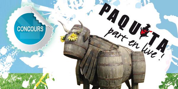 Faites le plein de CADEAUX avec Paquita Part en Live !