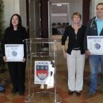 Remise des chartes qualité à 3 commerçants vauréens / © CCI
