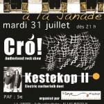 Cro + kestekop II - La Janade (c) Association La Seye en scène