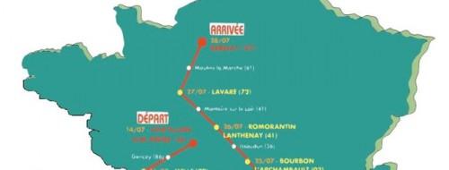 La France en courant - Le parcours 2012