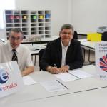 Signature d'une convention de partenariat entre Pôle Emploi et la CCI du Tarn - Mercredi 18 juillet 2012 / © CCi du Tarn