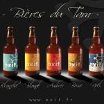 Bieres du Tarn OXIT (c) Brasserie des coteaux