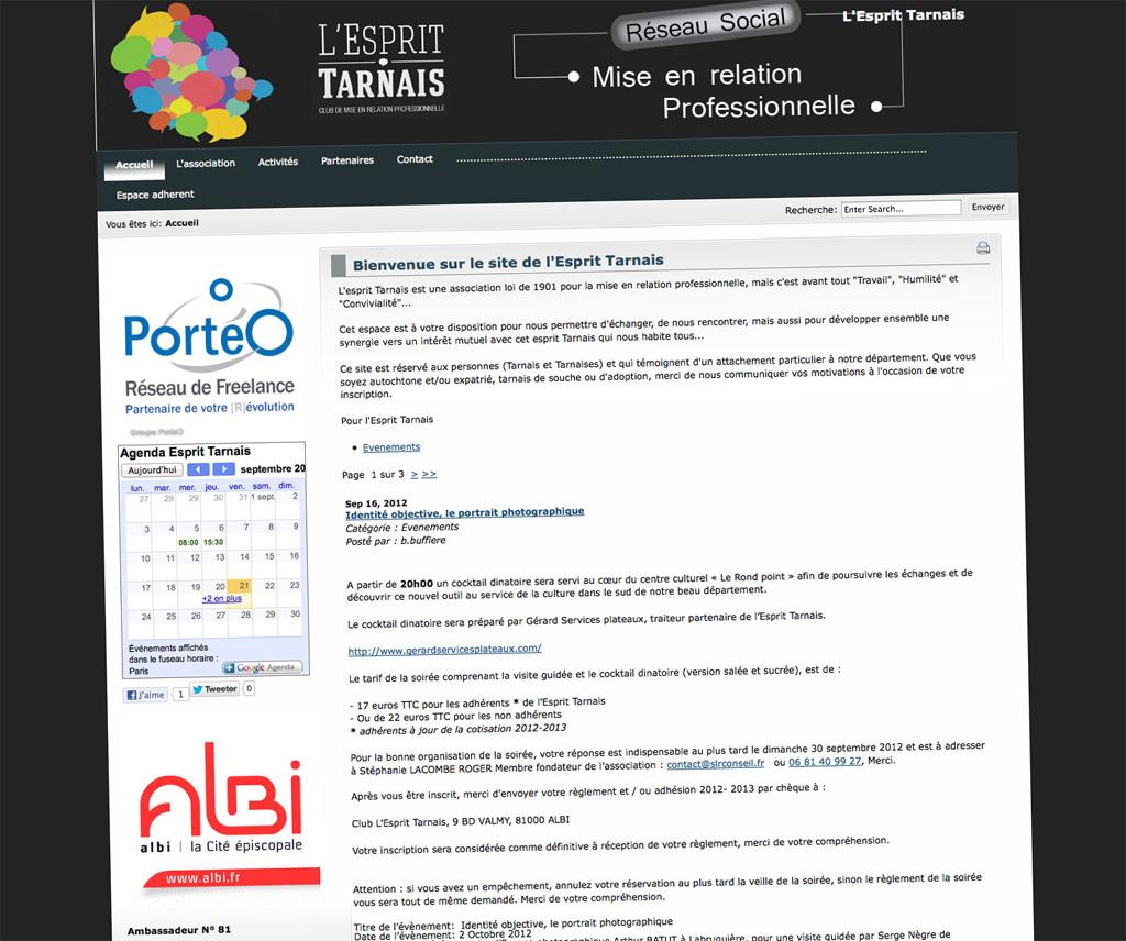L'esprit Tarnais, site Internet
