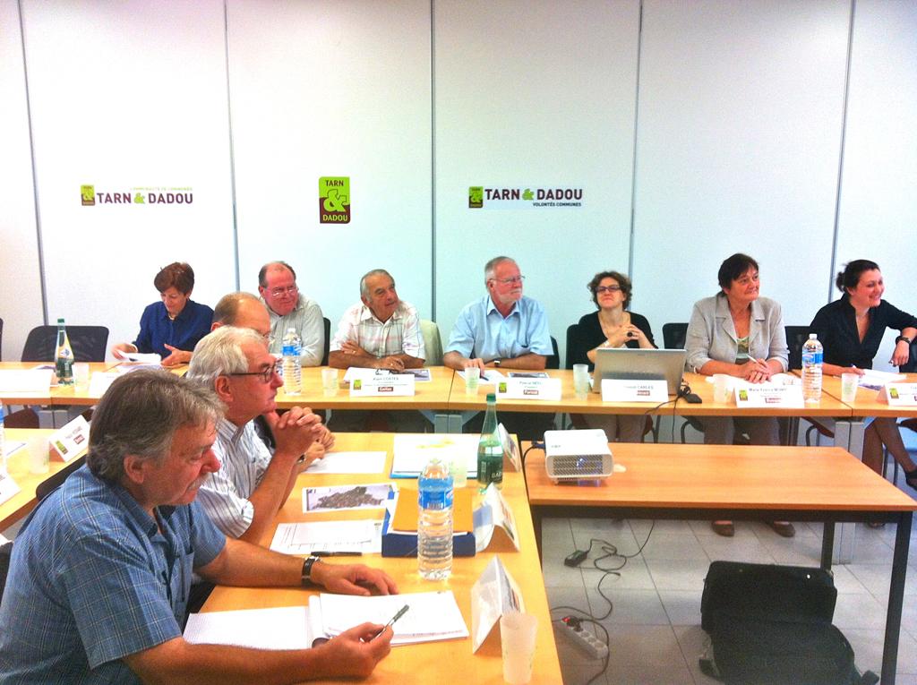 Les 29 maires de Tarn & Dadou font avancer le territoire / © Ted