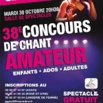 38ème Concours de chant amateur (c) AGACI