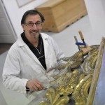Hervé Langlois, lauréat du Prix départemental des métiers d'art 2011 / © Conseil général du Tarn