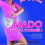 Noëlle Perna : Mado remet sa tournée (c)
