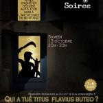 Qui a tué Titus Flavius Buteo ? (c)