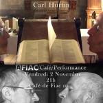 AFIAC-Café : Carl Hurtin (c) AFIAC