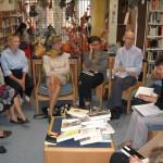 Café littéraire à la médiathèque Pierre Viguier - Lisle sur Tarn / © Médiathèque Pierre Viguier