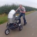 La poussette la plus rapide du monde, Colin Furze