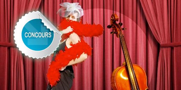 Gagnez des places pour le spectacle Madame est au Violon - Concours DTT