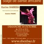 Lavaur Stage de danse africaine (c) Association Ebenbao