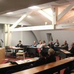 Réunion sur l'accessibilité des commerces à la Chambre du Commerce et d'Industrie du Tarn, Site de Mazamet le 23 ocobre 2012 / © CCI du Tarn