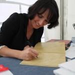 Eléonore Thuillier, Salon du Livre de Gaillac / © François darnez - Les petits lézards
