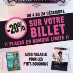 C'est Noël chez Arpèges & Trémolos, 20% de réduction sur Les ptits bouchons et Pause Guitare 2013