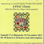 Fiac Exposition de Patchwork (c) Association des Quilts deCocagne