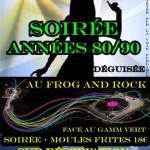 Graulhet Soirée Années 80/90 (c) Association Le Frog and Rock