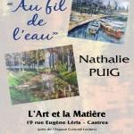 Nathalie Puig Au fil de l'eau (c) Artisans Créateurs Tarnais