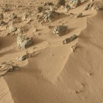 Mars, site de rocknest / © JPL Caltech - NASA