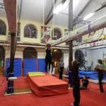 La salle de l'école de cirque de Mazamet / © Ecole de cirque Zmam