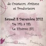 Le Vintrou Marché de Noël et Vide Grenier (c) comité des fêtes du Vintrou
