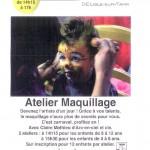 Lisle-sur-Tarn Atelier Maquillage (c) Médiathèque