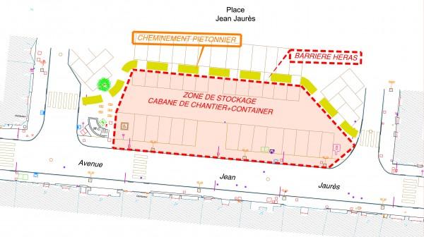 Carmaux, projet aménagement urbain / © Ville de Carmaux