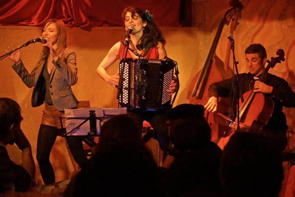 Chloé Lacan en concert / © Chloé Lacan