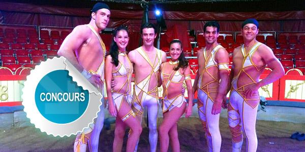 Gagnez des places le Cirque Alegria à Saint-Sulpice avec les concours Dans Ton Tarn