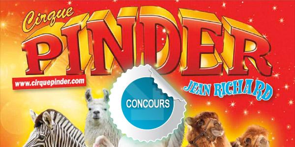 Gagnez des places pour le Cirque Pinder à Albi avec les concours DTT