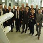 Une délégation d'Élus tarnais en visite chez Airbus / © Conseil général du tarn