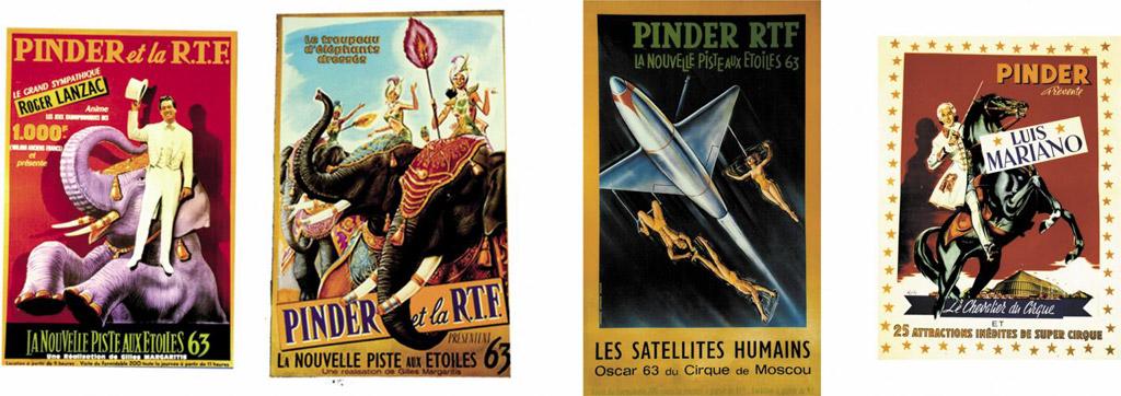Cirque Pinder - Affiches / © Pinder