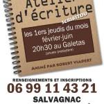 Salvagnac Atelier d'écriture (c) Places en Fête