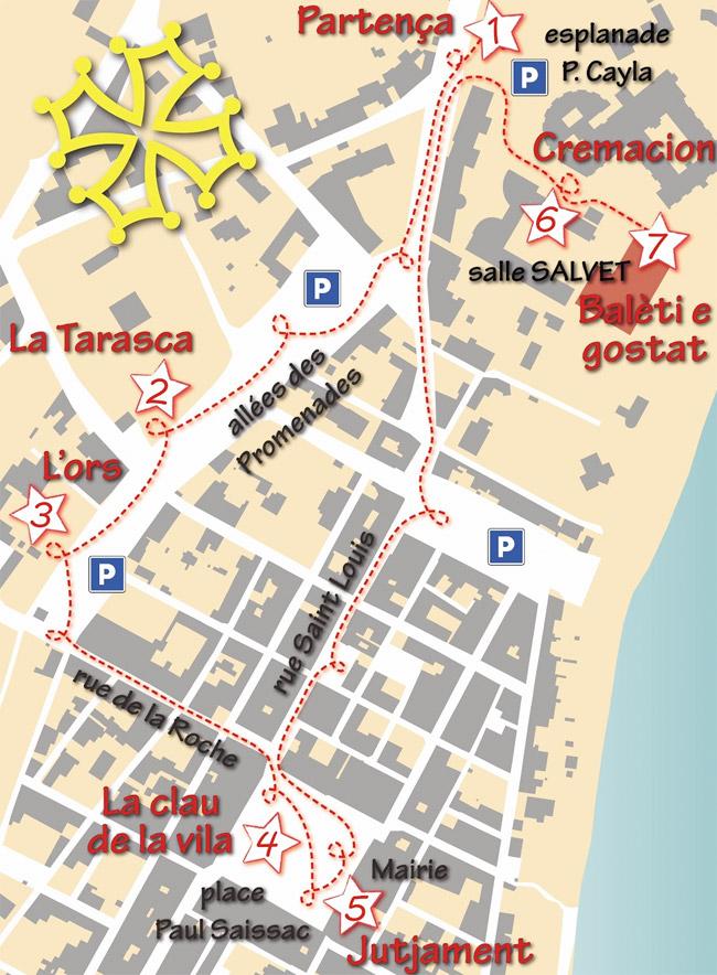 Lo Carnaval Occitan dels dròlles, plan