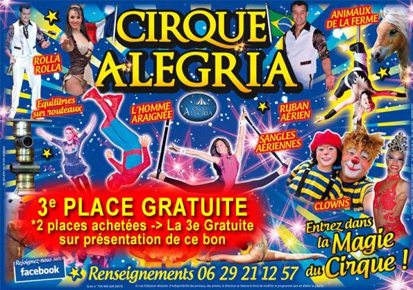 Cirque Alegria - Promo Lisle sur Tarn