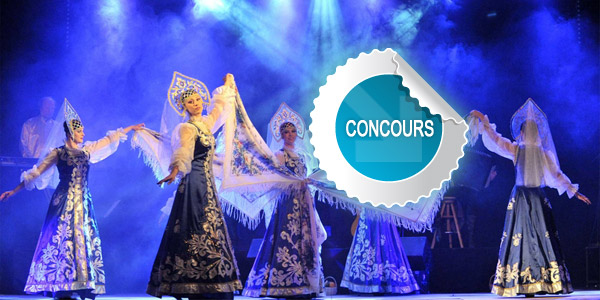 Gagnez des places pour le spectacle de l'Ensemble Troïka à Cap'Découverte - Concours DTT