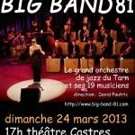 Le Big Band 81 en concert à Castes (c) Association du Big Band 81