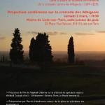 Projection-conférence-croisade des Albigeois (c) association Arnaud de Montaigut