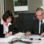 Signature d'une convention entre la Ville de Gaillac et GrDF / © Raynaud Photo
