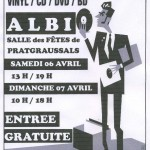 Albi bourse aux disques vinyl, cd, dvd & bd (c) Association Missing Key