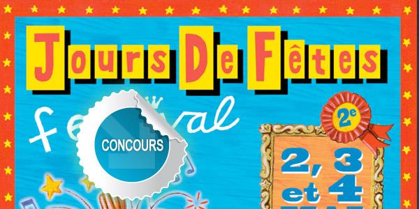 Gagnez des places pour la soirée du 4 mai 2013 au Festival Les Jours de Fêtes à Saint-Juéry avec les concours Dans Ton Tarn