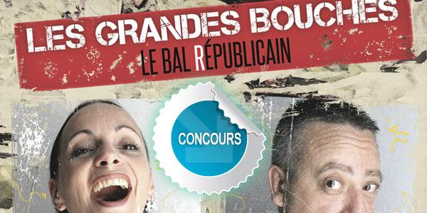 Gagnez des places pour le Bal républicain des Grandes Bouches à Graulhet - Concours DTT